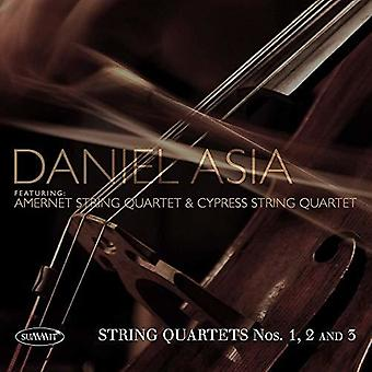 String Quartets Nos 1, 2 And 3 [CD] USA import