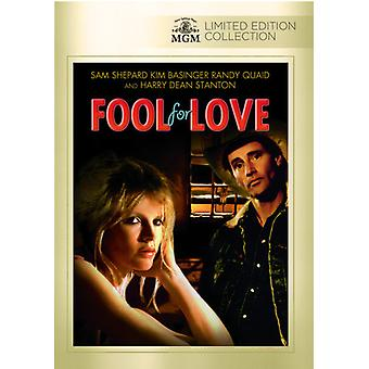 Fool for Love [DVD] USA import