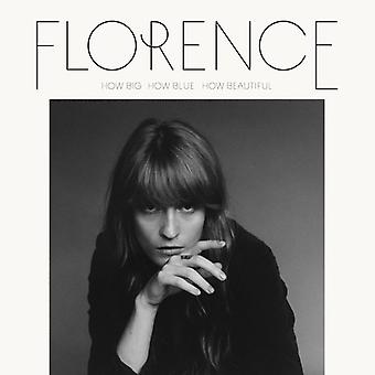 Florence & the Machine - How Big How Blue How Beautiful [CD] USA import