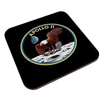 NASA Apollo 11 Mission Badge Coaster