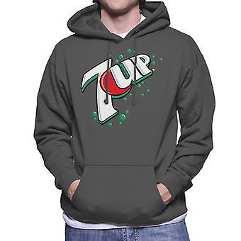 7up 00s Bubble Logo Men's Hooded Sweatshirt
