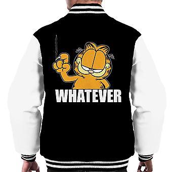 Garfield Whatever Nail Wall scratch menn ' s Varsity Jacket