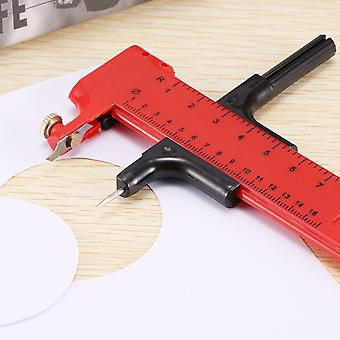 Rotary Compass Circle Cutter - Paper Cardboard Rubber Vinyl Leather Circle