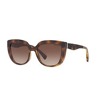 Ralph by Ralph Lauren RA5254 500313 Dark Havana/Gradient Brown Sunglasses