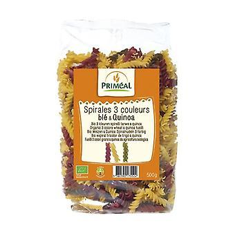 Espirales Tricolor de Trigo y Quinoa 500 g