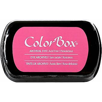 Clearsnap ColorBox Arkivfargefarget Blekk i full størrelse Rosaolicious