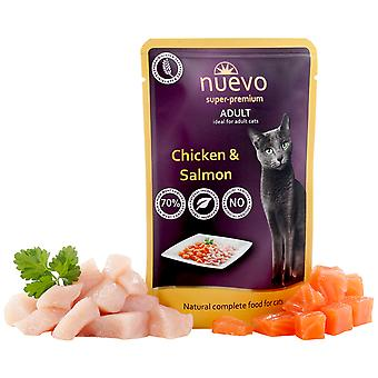 Nuevo About Adult Chicken And Salmon (Cats , Cat Food , Wet Food)