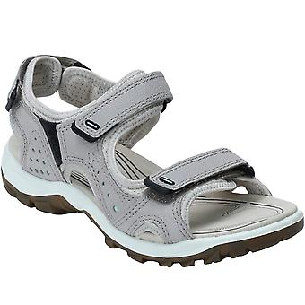Ecco Womens Offroad Lite Walking Hiking Trail Outdoor Sandals Shoes - Moon Rock