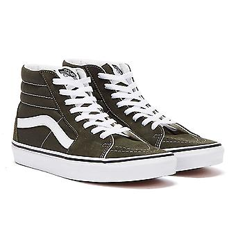 Vans SK8-Hi Mens Forest Night Green / White Trainers