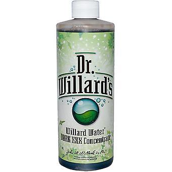 Willard, Willard Water, Dark XXX Concentrate, 16 oz (0.473 l)
