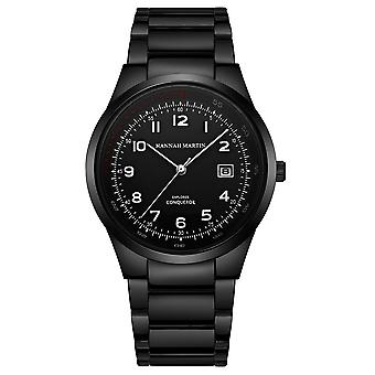 Męski&s wodoodporny zegarek kwarcowy kalendarz