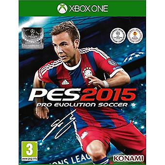 PES 2015 Pro Evolution Soccer Xbox One Game