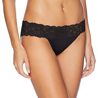 Calvin Klein Naiset ' s viettelevä Comfort bikinit sukka housut, musta, Iso