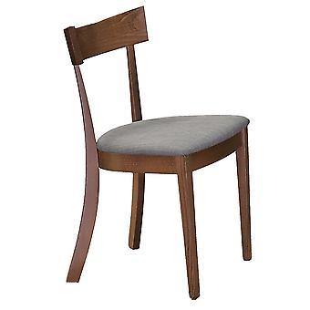 Jasper Side Chair - Walnut/Grey