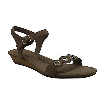 Koolaburra Women's Shoes Leira Suede Open Toe Casual Mule Sandals
