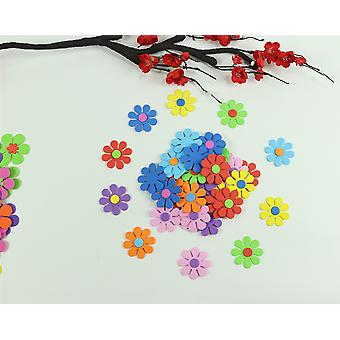 Mix-flowers Foam-stickers Kids-toy, Scrapbooking Kit, Early-educational Diy