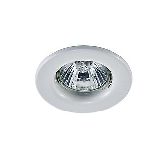 Inspired Deco - Hudson - GU10 Fixed Recessed Downlight White (Bulb Not Included)