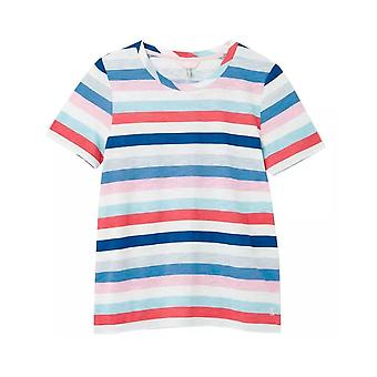 Joules Carley Classic Crew Neck Top (blue Stripe)