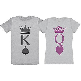 King & Queen Decks - Couple T-Shirt Gift Set