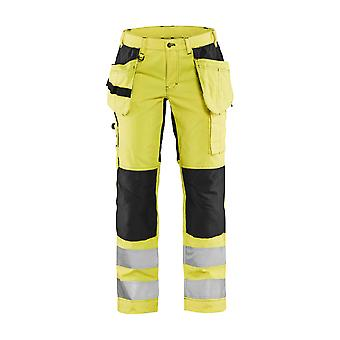 Blaklader 7163 hi-vis stretch trousers - womens (71631811)