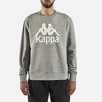 Kappa Authentieke Telas 2 Crew Neck Sweater - Mid Marl Grey