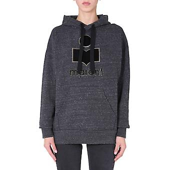 Isabel Marant ÉToile Sw003120a054e02an Women's Grey Cotton Sweatshirt