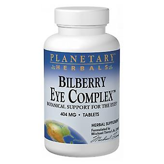 Planetary Herbals Bilberry Eye Complex, 120 onglets
