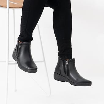 Heavenly Feet Venice3 Ladies Ankle Boots Black