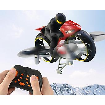 2.4g 2 In 1 Land Air Fly Motorcycle,  Headless Mode Remote Control And