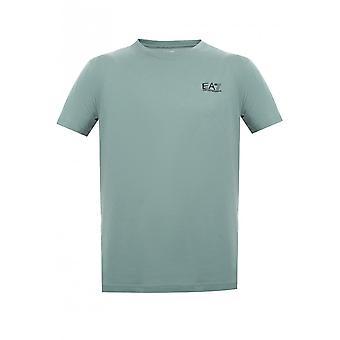 EA7 Emporio Armani Cotton Simple Dark Forest T-shirt