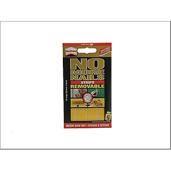 Unibond No More Nails Removable Double Sided Strips 10 x 40mm