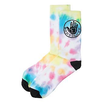 Body Glove Tie Dye Core Logo Socks - Pastel Tie Dye