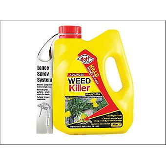 Doff Advanced Weedkiller Ready To Use 3L