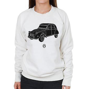 Citro?n 2CV Angle For Light Women's Sweatshirt
