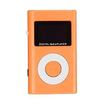 Mini USB MP3 Music Media Player LCD Screen Support 32GB Micro SD TF Card Slot