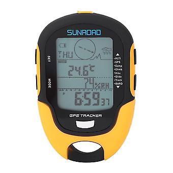 Sunroad Fr510 Portable Digital Altimeter Baromètre Compass Locator