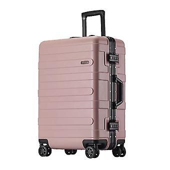 aluminium ramme hard koffert, abs spinner hytte tralle bagasje