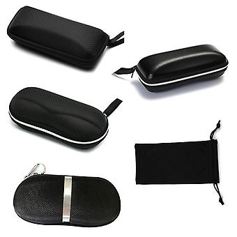 Lunettes de soleil portatives Protector Travel Pack Pouch Glasses Case Zipper Box Hard