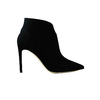 Ninalilou 302620na1black Women's Black Suede Ankle Boots