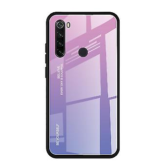 speil gradient herdet glass tilfelle for redmi note 9 pro deksel
