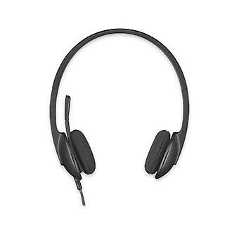 Headphones with Microphone Logitech H340 USB 1
