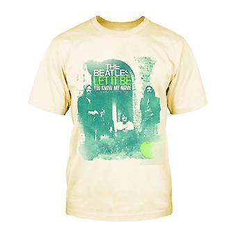 The Beatles You Know My Name Official Kids New Beige T Shirt (Ages 5-12yrs)