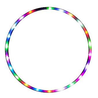 Colorful Performance Led Lights Glowing Hula Hoop Detachable Hula Hoop Fitness Thin Waist Supplies