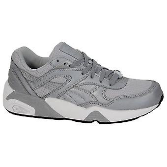 Puma Trinomic R698 Mens Trainers Lace Up Shoes Reflective Silver 358635 01 B34C