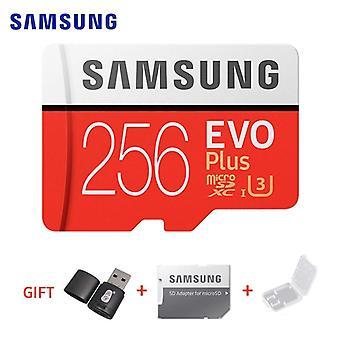 Samsung Memory Card Evo Plus 4k Ultra Hd Micro Sd 256gb 128g 64gb  Class10