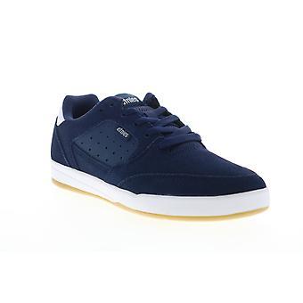 Etnies Veer  Mens Blue Suede Skate Inspired Sneakers Shoes