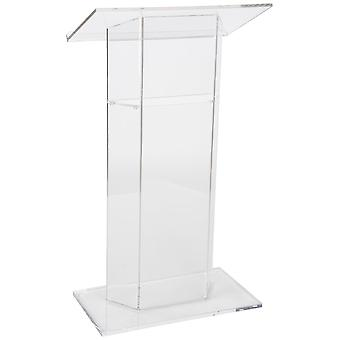 Clear Modern Stable Acrylic Lectern