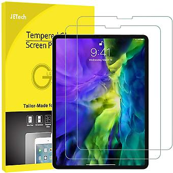Jetech 2-pack screen protector for ipad pro 11-inch (2020 and 2018 release edge to edge liquid retin