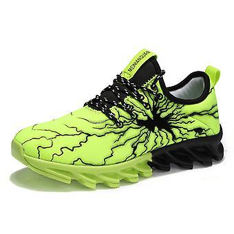 Zapatos de running transpirables para hombre YZ5 Green