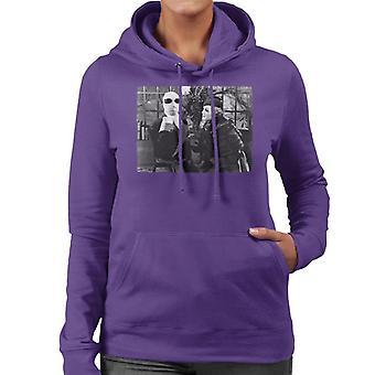 Den osynlige mannen och flora Cranley Kvinnor&apos,s Hooded Sweatshirt